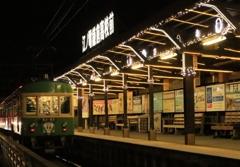 鎌倉高校前駅 イルミネーション