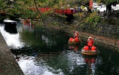 水の都 大垣 たらい舟