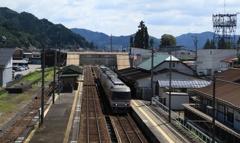 「君の名は。」飛騨古川駅