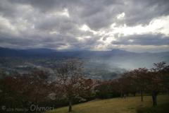 美の山公園 眺望