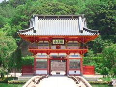 勝尾寺山門
