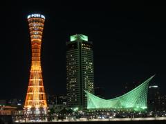 ポートタワーと海洋博物館