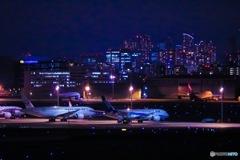 羽田空港 夜撮
