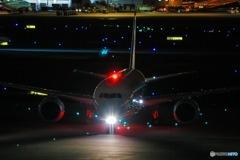 JAL 夜撮