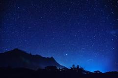 屋久島の夜空