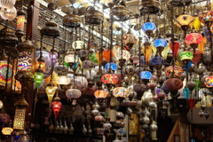 アラブストリートのランプたち