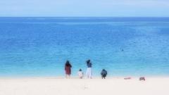 浜辺 ③。