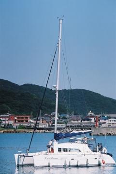 加太のヨット