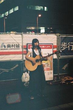 梅田駅のミュージシャン
