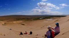 南ゴビ ホンゴル砂丘
