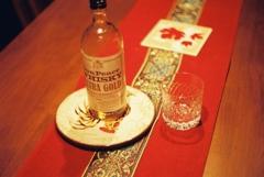 ウイスキーのある食卓