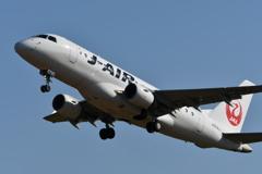 山形空港(J・Air、エンブラエル170)8