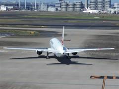 JAL B767-200(娘の絵6)