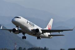 山形空港(J・Air、エンブラエル170)7