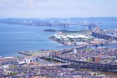 瀬戸大橋と115系電車