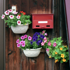 素敵な郵便受け