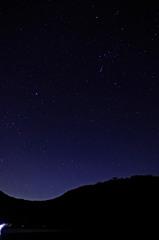 初赤城山で星景撮影