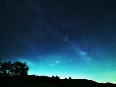 秋吉台の星空2
