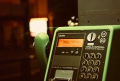 公衆電話 / public telephone