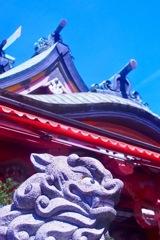 晴天の尼崎えびす神社
