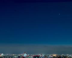 星が見えた日