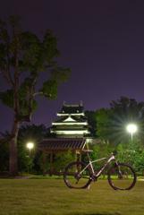 夜の歴史公園