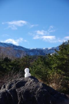 雪だるま(蔵王連峰 刈田岳)