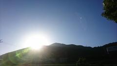 「山の光り」