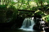 雷滝下の無名滝1