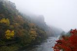 霧に咽ぶ秋の乙女ヶ越