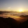 国見ケ丘での日の出