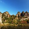 奇岩連なる秋の耶馬渓