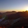 九重連山の日の出