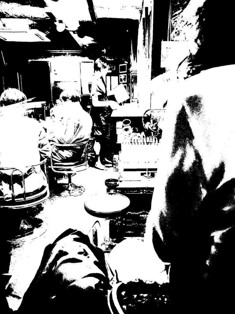 あるジャズ喫茶にて