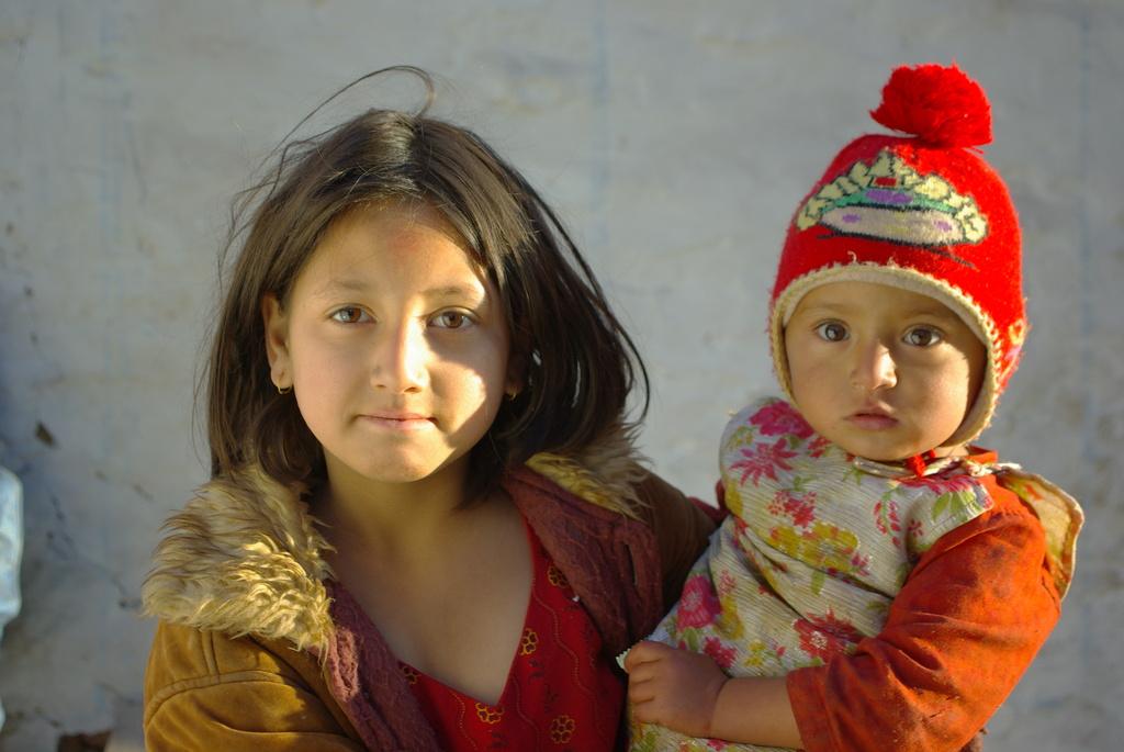 サリヤンの子供2 ネパール 2009-1