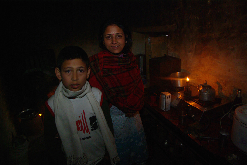 サリヤンの台所 ネパール 2009-1