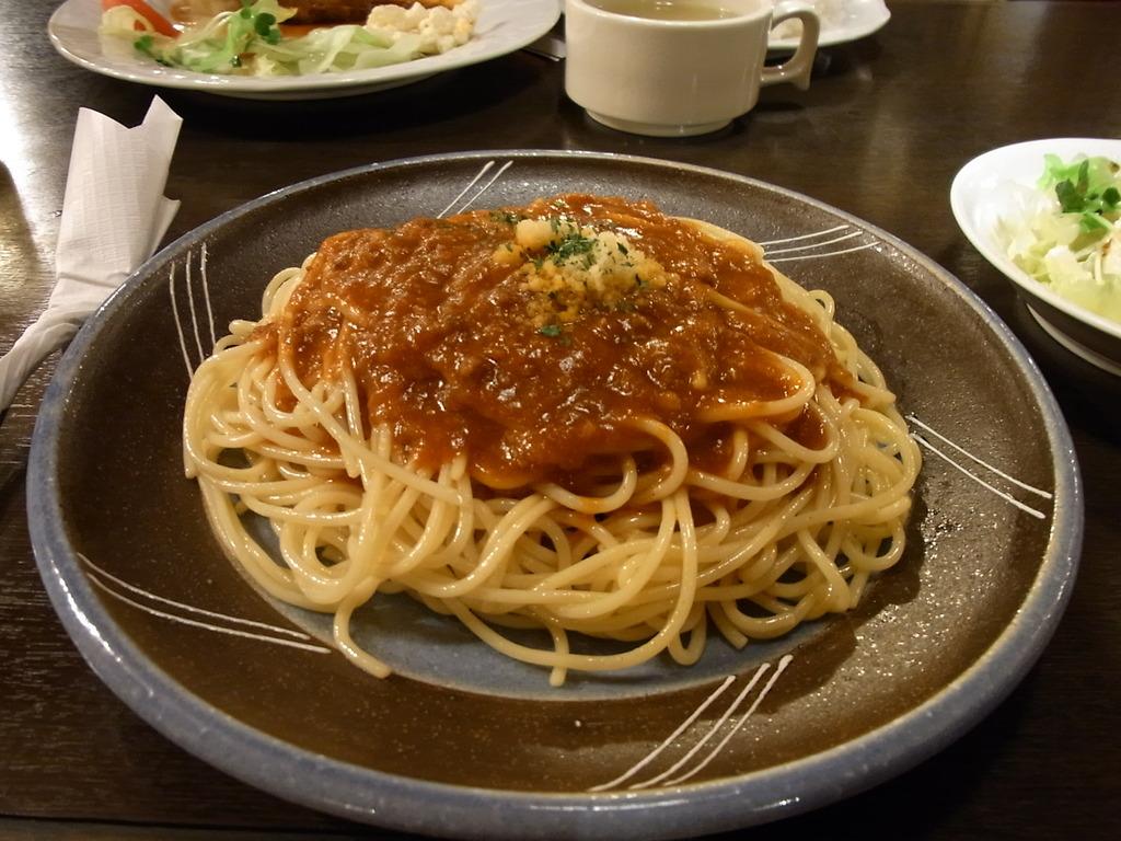松山駅前 カフェ時計台③