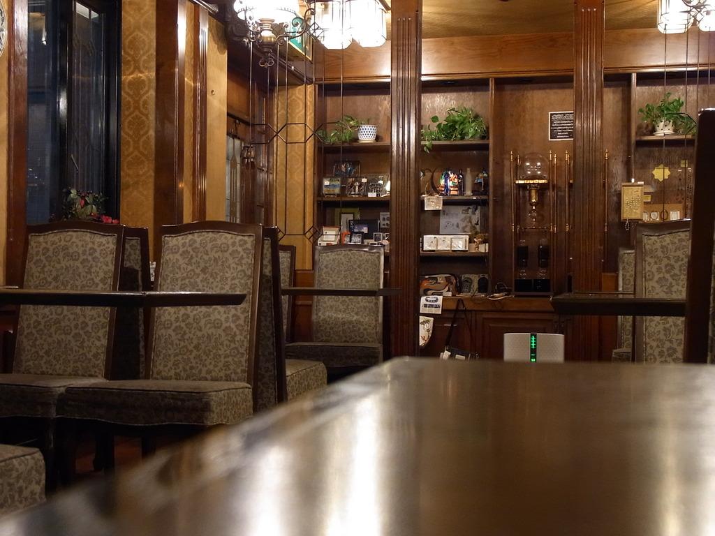 松山駅前 カフェ時計台①