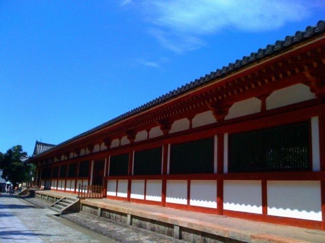 東大寺外壁