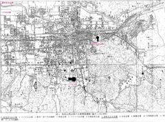 桜井茶臼山地図