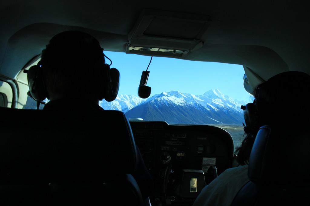 ニュージーランド/タスマン氷河