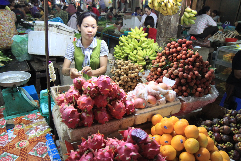カンボジア/シェムリアップ/オールドマーケット