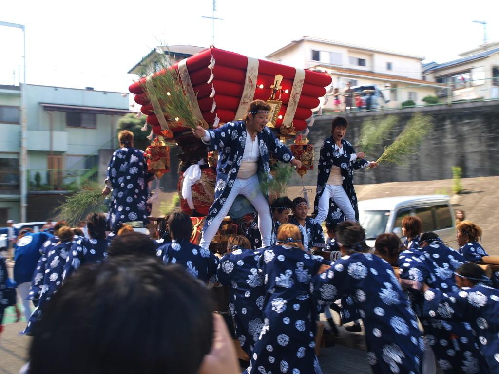海神社秋祭り 塩屋(神戸市垂水区塩屋)③