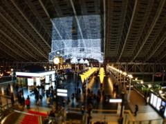 大阪駅イルミネーション   ジオラマ風