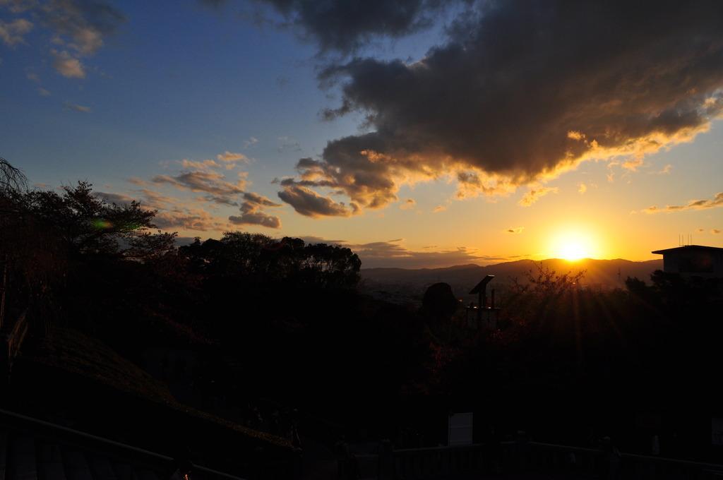 京都の夕焼けfrom清水寺