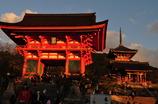 夕方の清水寺