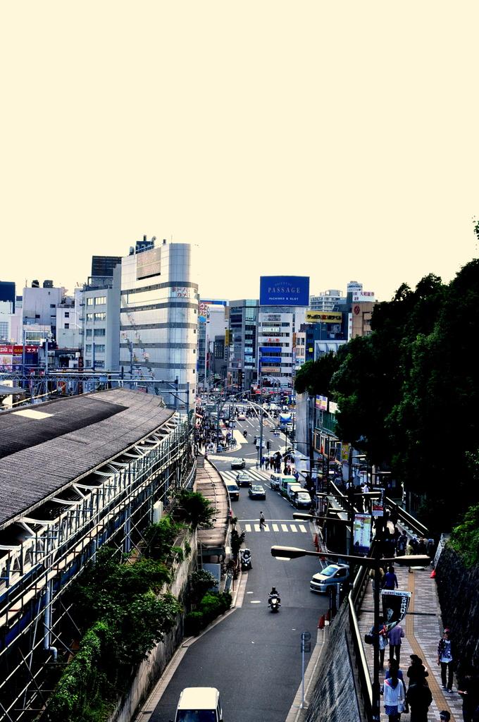 上野駅公園口からの風景