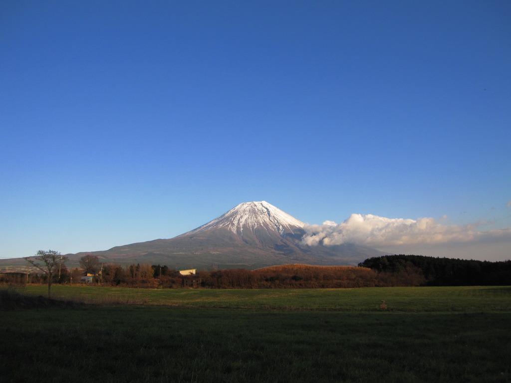 富士山 朝霧付近より