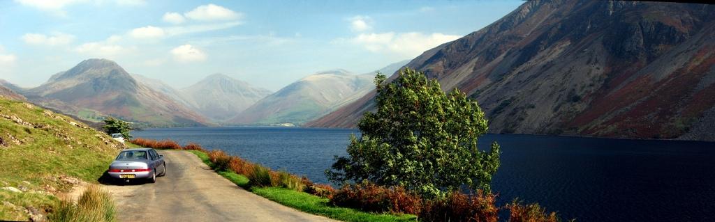 イギリスの湖水地方