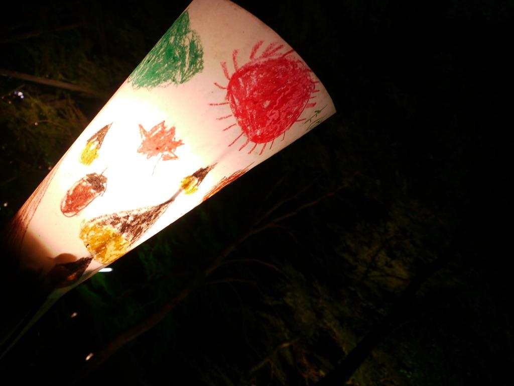 神護寺参道の灯篭